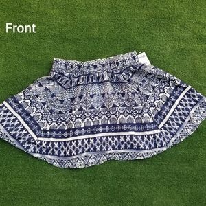 Charlotte Russe tribal mini skirt